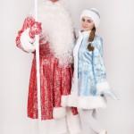 Снегурочка Машенька и Дед Мороз Николай, костюм №3